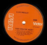 ELVIS PRESLEY Your Cheatin' Heart EP Vinyl Record 7 Inch Australian RCA Victor